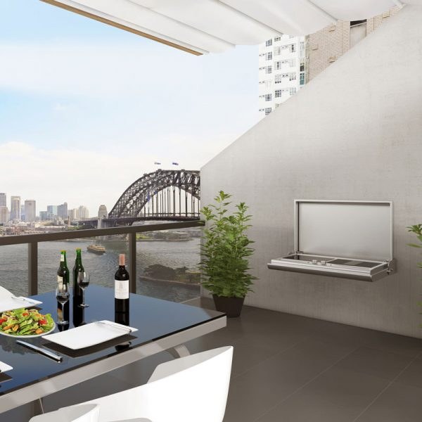 Smart Wall Mount Electric BBQ - Lifestyle #1