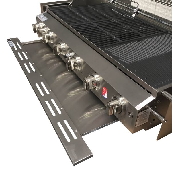 601WB-W Smart 6 Burner Built In BBQ Drip Tray for Fats & Oils