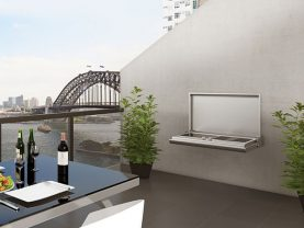 Smart Wall Mounted Electric BBQ