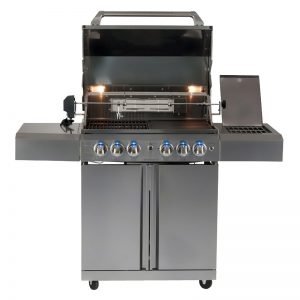 411W-W - Smart Freestanding BBQ With Motorised Rotisserie