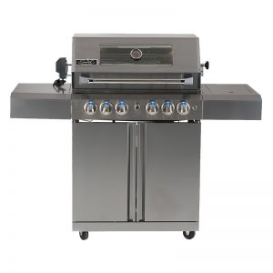 411W-W - Smart Freestanding BBQ With Integrated Viewing Window