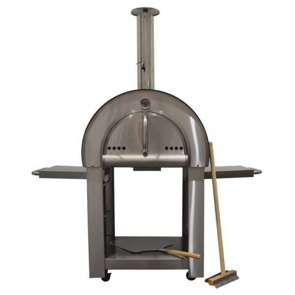 Smart Stainless Steel Freestanding Woodfired Pizza Oven