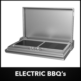 Smart Electric Wall Mount BBQ Range