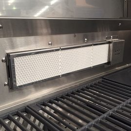 Rear Infrared Rotisserie Burner