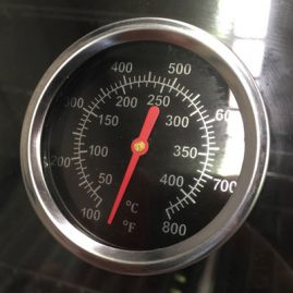 Temperature Gauge for Smart Gas BBQ